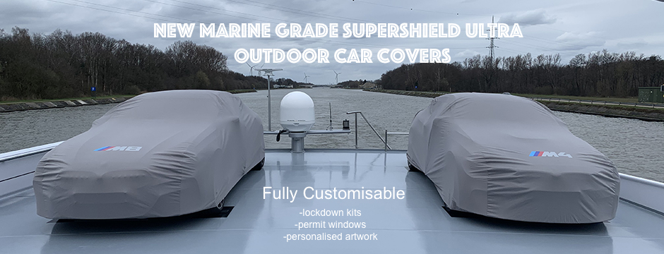New Marine Grade Super Shield Ultra Outdoor Covers